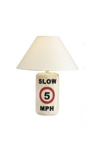 BUOY LAMP WHITE SLOW 5