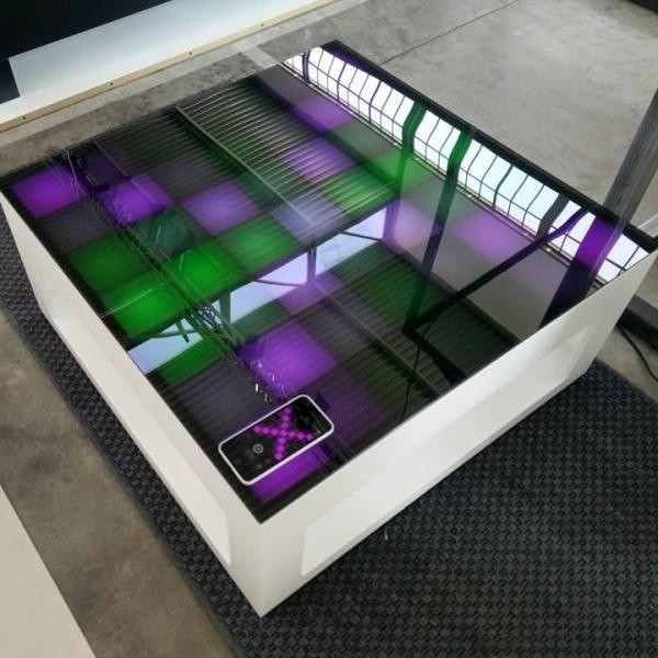 Interactive Coffee Table With Led Lights Mypixeek