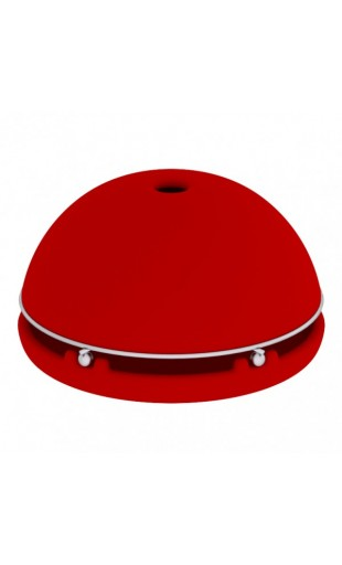 CANDLE POWERED HEATER - RED