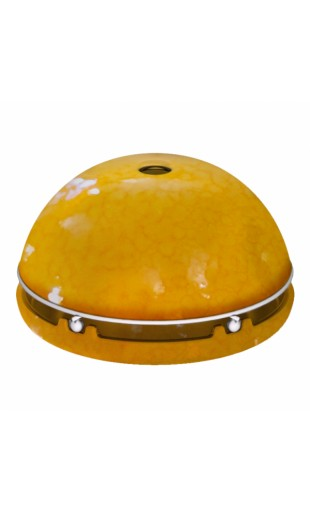 CANDLE POWERED HEATER - YELLOW