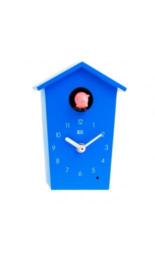 BLUE CUCKOO CLOCK - ANIMAL HOUSE