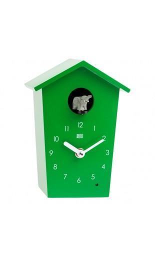 GREEN CUCKOO CLOCK - ANIMAL HOUSE