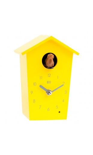YELLOW CUCKOO CLOCK - ANIMAL HOUSE