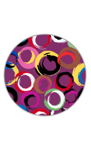 ROUND PAINTING POP ART 1