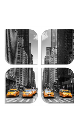 PAINTING NEW YORK TAXIS