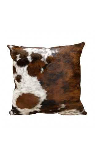 BULL HAIR LEATHER CUSHION 3