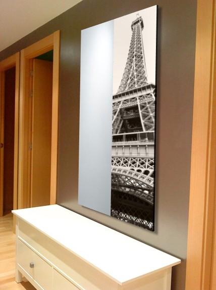 Espejo moderno metacrilato a medida torre eiffel 001 - Espejo a medida ...