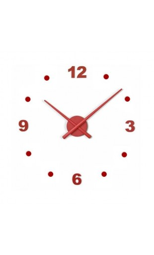 WALL CLOCK OJ 50 MINI - 4 NUMBERS