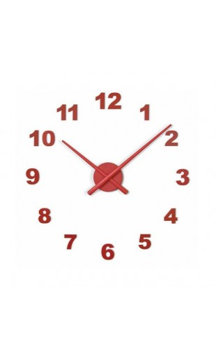 WALL CLOCK OJ 50 MINI - 12 NUMBERS