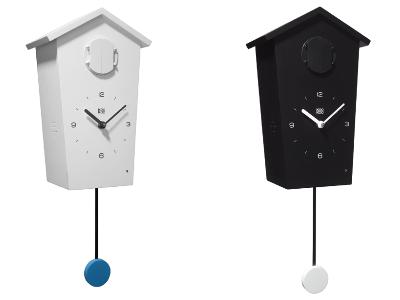 horloges coucou modernes. Black Bedroom Furniture Sets. Home Design Ideas
